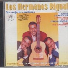 CDs de Música: LOS HERMANOS RIGUAL CD SUS MEJORES CANCIONES 2002 RAMA LAMA. Lote 101332635