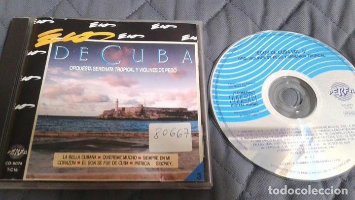 ECOS DE CUBA - ORQUESTA SERENATA TROPICAL Y VIOLINES DE PEGO - VOL. 6 - 1990 CD ALBUM (Música - CD's Latina)