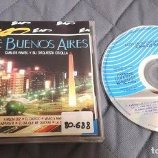 CDs de Música: ECOS DE BUENOS AIRES - CARLOS RAVEL Y SU ORQUESTA CRIOLLA - CD ALBUM, VOL. 8. Lote 101374835