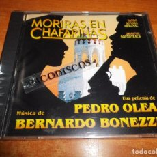 CDs de Música: MORIRAS EN CHAFARINAS BANDA SONORA CD ALBUM PRECINTADO MUSICA BERNARDO BONEZZI 12 TEMAS ZOMBIES. Lote 101395587