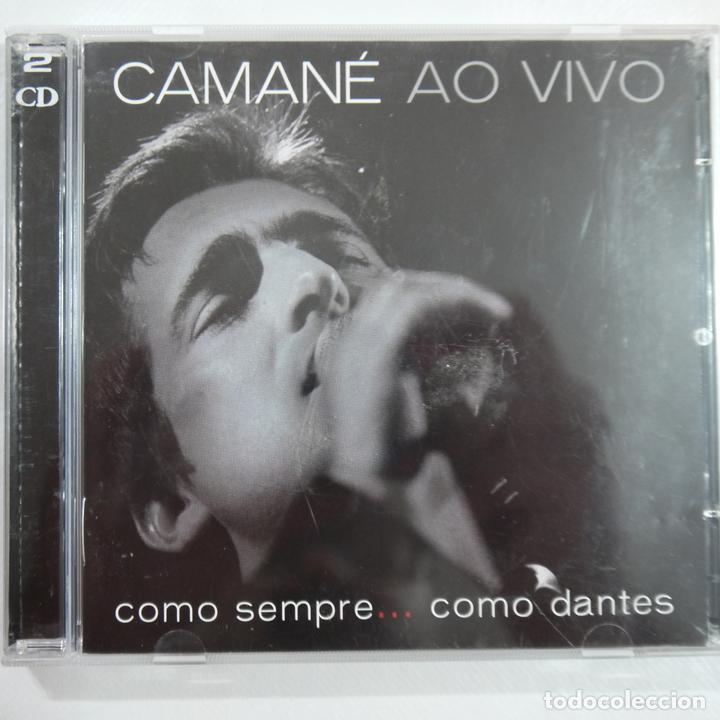 CAMANÉ AO VIVO - COMO SEMPRE… COMO DANTES - 2 CDS 2003 - MADE IN EU (Música - CD's Otros Estilos)