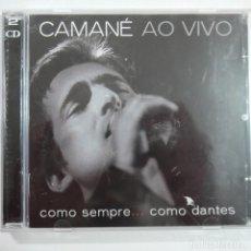 CDs de Música: CAMANÉ AO VIVO - COMO SEMPRE… COMO DANTES - 2 CDS 2003 - MADE IN EU . Lote 101401535