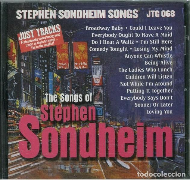 STEPHEN SONDHEIM SONGS (Música - CD's Bandas Sonoras)