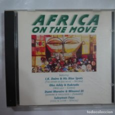 CDs de Música: AFRICA ON THE MOVE - VARIOS AUTORES - CD 1990. Lote 101414547
