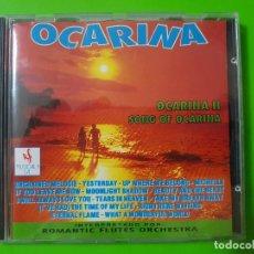 CDs de Música: OCARINA SONG OF OCARINA POR ROMANTIC FLUTES ORCHESTRA. Lote 101418563