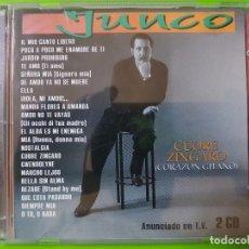 CDs de Música: JUNCO CON SU MEJOR ÁLBUM CORAZÓN GITANO (CUORE ZÍNGARO) INOLVIDABLE DISCO DOBLE. Lote 101418631