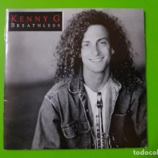 CDs de Música: KENNY G CON SU MEJOR ÁLBUM BREATHLESS. Lote 101418671