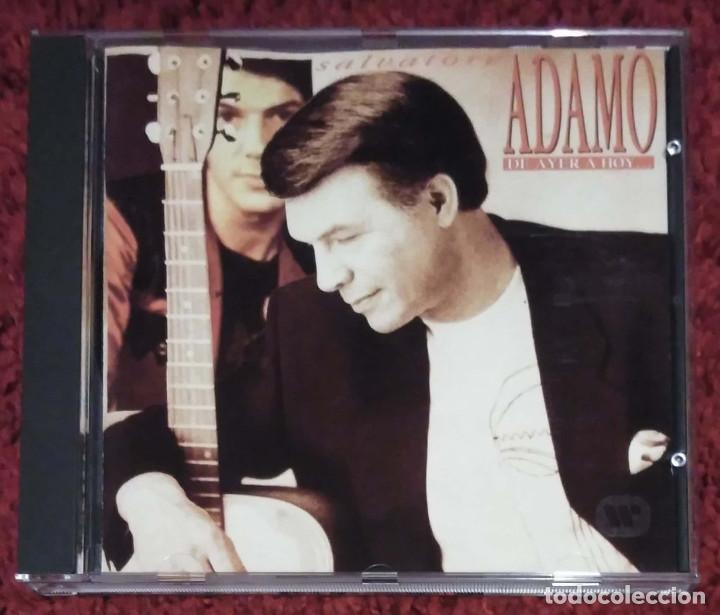 ADAMO (DE AYER A HOY) CD 1993 * RARO (Música - CD's Melódica )
