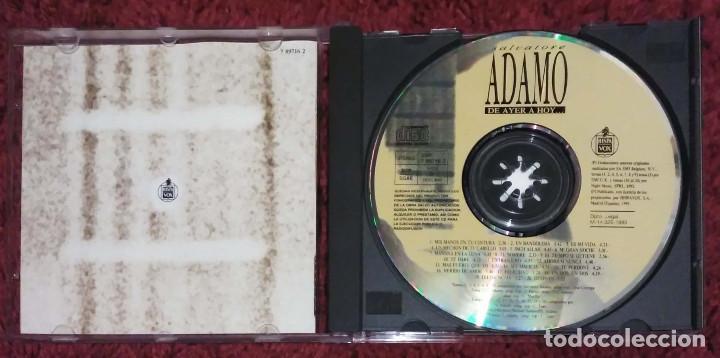 CDs de Música: ADAMO (DE AYER A HOY) CD 1993 * Raro - Foto 3 - 101433379