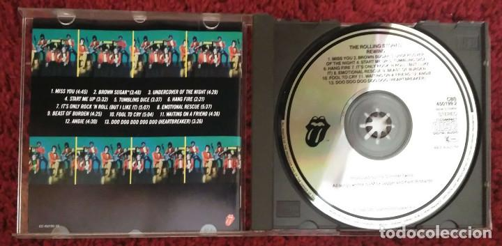 CDs de Música: THE ROLLING STONES (REWIND 1971-1984) CD 1984 - Foto 3 - 101437143