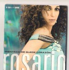 CDs de Música: ROSARIO - MIENTRAS ME QUEDE CORAZÓN (2CD + DVD DIGIPAK 2009, SONY MUSIC 88697578492). Lote 101524383