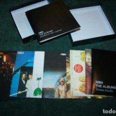 CDs de Música: ABBA THE ALBUMS, CAJA CON 9 DISCOS AÑO 1980. Lote 101671639