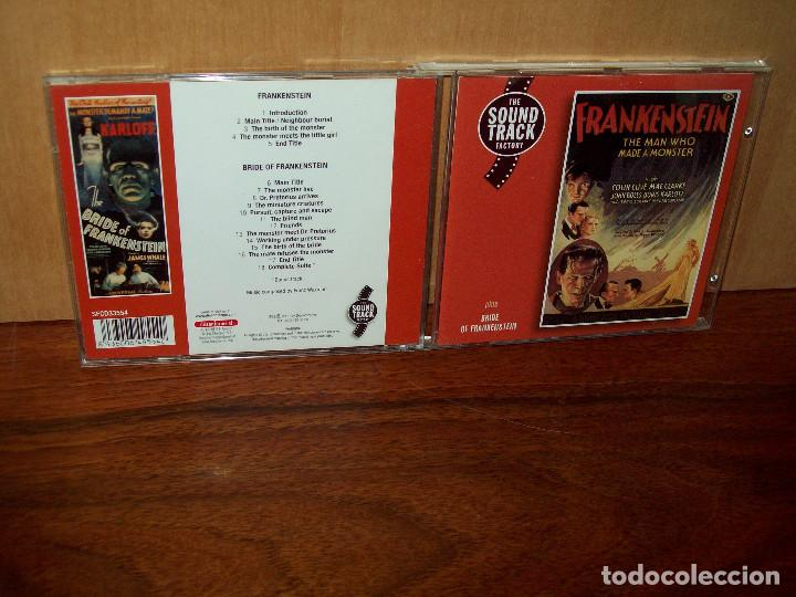 FRANKESNSTEIN - MUSICA DE FRANZ WAXMAN - CD BANDA SONORA ORIGINAL BSO (Música - CD's Bandas Sonoras)