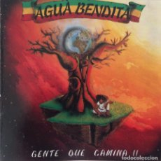CDs de Música: AGUA BENDITA CD GENTE QUE CAMINA TRALLA RECORDS. Lote 101713499