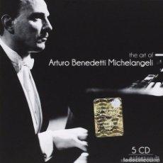 CDs de Música: ARTURO BENEDETTI MICHELANGELI - THE ART - CAJA DE 5 DISCOS. Lote 101720507