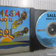 CDs de Música: CD SALSA BAJO EL SOL TONY PAVON PEPE TULU RODRIGUEZ EL CLAN DE VICTOR WAYNE GOBBEA SON 14 Y+ . Lote 101721347