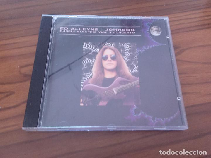 ED ALLEYNE. JOHNSON. PURPLE ELECTRIC VIOLIN CONCERTO. CD CON 10 TEMAS. BUEN ESTADO. RARO segunda mano
