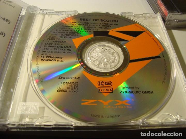 RAR CD  SCOTCH DISCO BAND  THE BEST  ITALO DISCO  ZYX