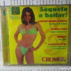 CDs de Música: CD SAQUELA A BAILAR 1998 COLOMBIA CORTIJO JOE CUBA SONORA MATANCERA Y+. Lote 101789187