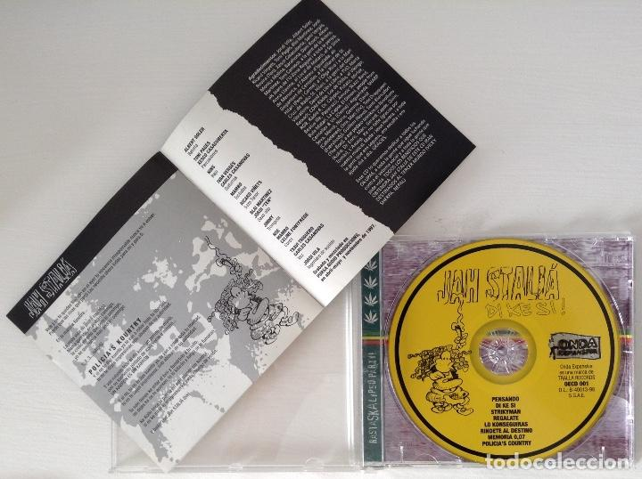CDs de Música: JAH STALIA CD Di Ke si! Tralla Records - Foto 2 - 101940987