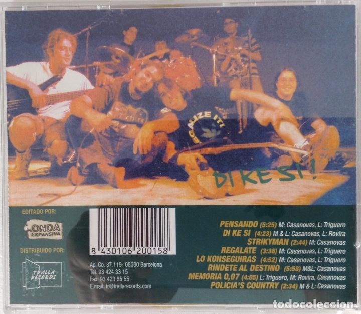 CDs de Música: JAH STALIA CD Di Ke si! Tralla Records - Foto 3 - 101940987