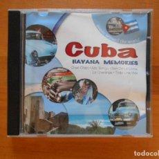 CDs de Música: CD CUBA - HAVANA MEMORIES (3Ñ). Lote 101976611