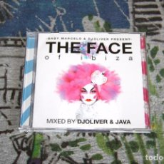 CDs de Música: THE FACE OF IBIZA - 2 CD'S - MIXED BY DJ. OLIVER & JAVA - BLANCO Y NEGRO - VENCD 1061. Lote 48859859
