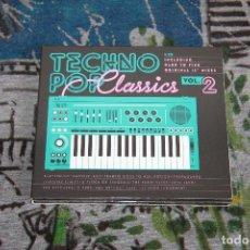 CDs de Música: TECHNO POP CLASSICS VOL. 2 - 2 CD'S - BLANCO Y NEGRO - MXCD 2280 CB. Lote 48860103
