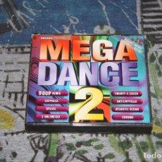 CDs de Música: MEGA DANCE 2 - 2 CD'S - BY DJ. DIMAS & MARTINEZ - ARCADE - 32 0038-2. Lote 56463339