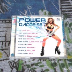 CDs de Música: POWER DANCE '98 - 2 CD'S - TCP - SASH! - CORONA - GALA - ENDORE - ULTRA NATE - BIT MUSIC - 32-527. Lote 48860620
