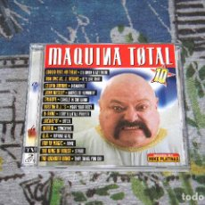 CDs de Música: MÁQUINA TOTAL 10 - 2 CD'S - MIXED BY MIKE PLATINAS - MAX MUSIC - NM 1830 CDTV. Lote 53354344