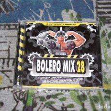 CDs de Música: BOLERO MIX 28 - 2 CD'S - BLANCO Y NEGRO - MXCD 2279 (CB) - NUEVO Y PRECINTADO. Lote 56467550