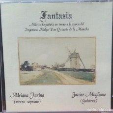 CDs de Música - MÚSICA ESPAÑOLA EN TORNO A LA ÉPOCA DEL INGENIOSO HIDALGO DON QUIJOTE DE LA MANCHA - 102065691