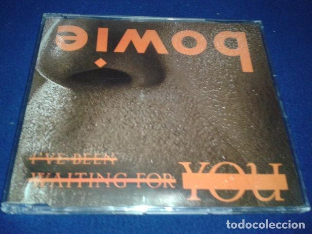 CD MAXI-SINGLE DAVID BOWIE ( I'VE BEEN WAITING FOR YOU ) 2002 COLUMBIA 38K 003369 RARO (Música - CD's Rock)