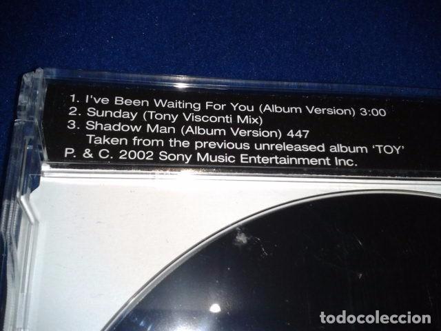 CDs de Música: CD Maxi-Single DAVID BOWIE ( Ive Been Waiting For You ) 2002 COLUMBIA 38K 003369 RARO - Foto 3 - 102072611