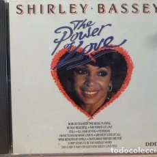 CDs de Música: SHIRLEY BASSEY - THE POWER OF LOVE. Lote 88338126