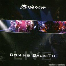 CDs de Música: DOBLE CD ALBUM: MANGROVE - COMING BACK TO LIVE - 10 TRACKS - MANGROVIAN MUSIC 2006. Lote 102144339