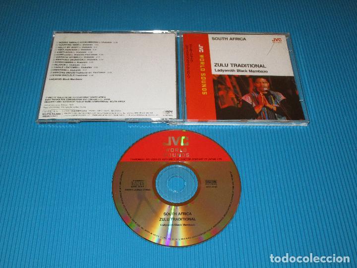 SOUTH AFRICA - ZULU TRADITIONAL ( LADYSMITH BLACK MAMBAZO ) - CD - VICG-5230 - JVC - VICTOR (Música - CD's World Music)