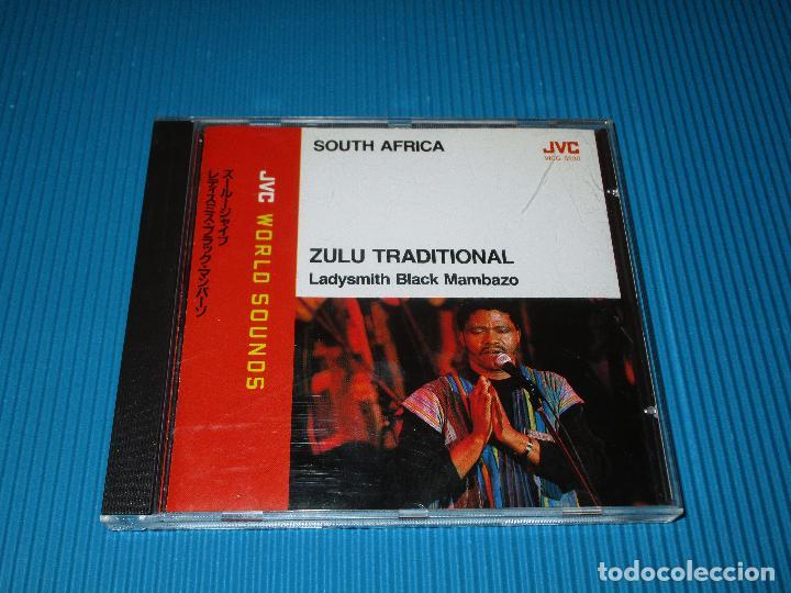 CDs de Música: SOUTH AFRICA - ZULU TRADITIONAL ( LADYSMITH BLACK MAMBAZO ) - CD - VICG-5230 - JVC - VICTOR - Foto 2 - 102259359