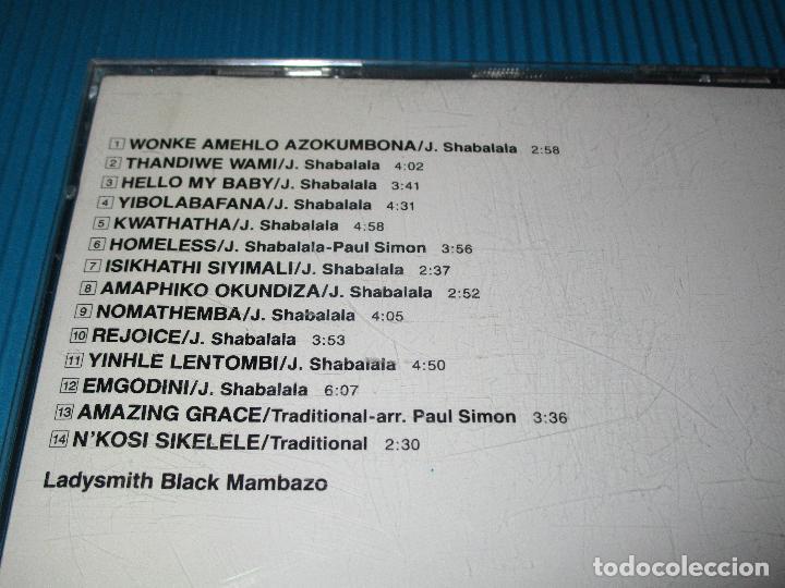 CDs de Música: SOUTH AFRICA - ZULU TRADITIONAL ( LADYSMITH BLACK MAMBAZO ) - CD - VICG-5230 - JVC - VICTOR - Foto 4 - 102259359