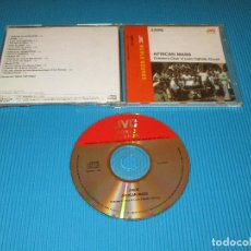 CDs de Música: ZAIRE - AFRICAN MASS ( CHILDREN'S CHOIR OF LWIRO CATHOLIC CHURCH ) - CD - VICG-5229 - JVC - VICTOR. Lote 102262363