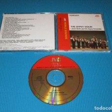CDs de Música: HUNGARY - THE GYPSY VIOLIN ( LASZLO BERKI AND HIS GYPSY ENSEMBLE ) - CD - VICG-5270 - JVC - VICTOR. Lote 102262799