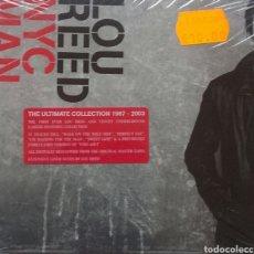 CDs de Música: LOU REED NYC MAN DOBLE CD. Lote 102360002