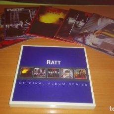 CDs de Música: CINCO CDS HEAVYS DE RATT - ORIGINAL ALBUM SERIES. Lote 102369559