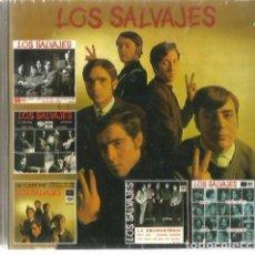 CDs de Música: CD LOS SALVAJES : LOS EP´S ORIGINALES ( 20 CANCIONES, PRECINTADO) . Lote 102379243