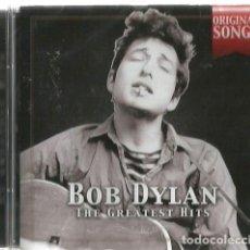 CDs de Música: CD BOB DYLAN : THE GREATEST HITS - ORIGINAL SONGS ( PRECINTADO ). Lote 102379871