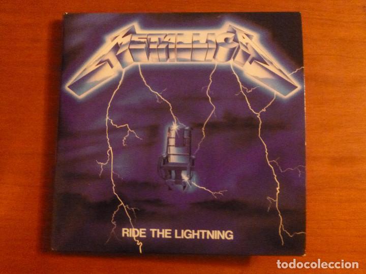 METALLICA - RIDE THE LIGHTNING - EDICION CARTON - BLACKENED (Música - CD's Heavy Metal)