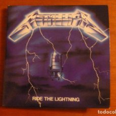 CDs de Música: METALLICA - RIDE THE LIGHTNING - EDICION CARTON - BLACKENED. Lote 102380879