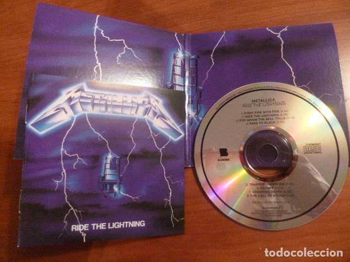 CDs de Música: METALLICA - Ride The Lightning - Edicion carton - Blackened - Foto 3 - 102380879