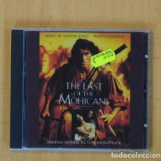 CDs de Música: TREVOR JONES / RANDY EDELMAN - THE LAST OF THE MOHICANS BSO - CD. Lote 102387220